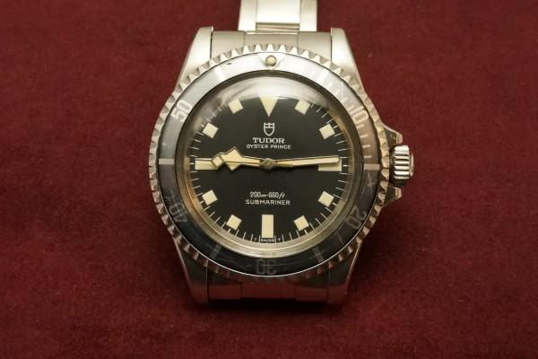 チュードル サブマリーナ Ref-7016/0 Black Snowflake(RS-58/1968年)の詳細写真2枚目