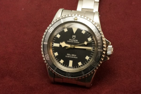 チュードル サブマリーナ Ref-7016/0 Black Snowflake(RS-58/1968年)の詳細写真3枚目