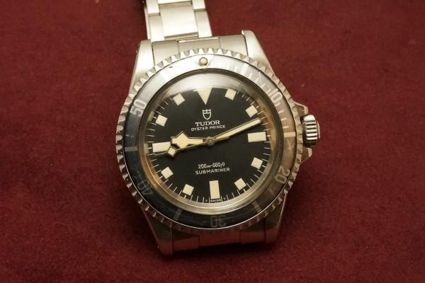 チュードル サブマリーナ Ref-7016/0 Black Snowflake(RS-58/1968年)の詳細写真4枚目