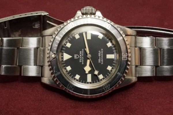 チュードル サブマリーナ Ref-7016/0 Black Snowflake(RS-58/1968年)の詳細写真6枚目