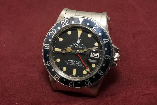 ロレックス GMTマスター Ref-16750 Matte Dial(RS-59/1982年)の詳細写真3枚目