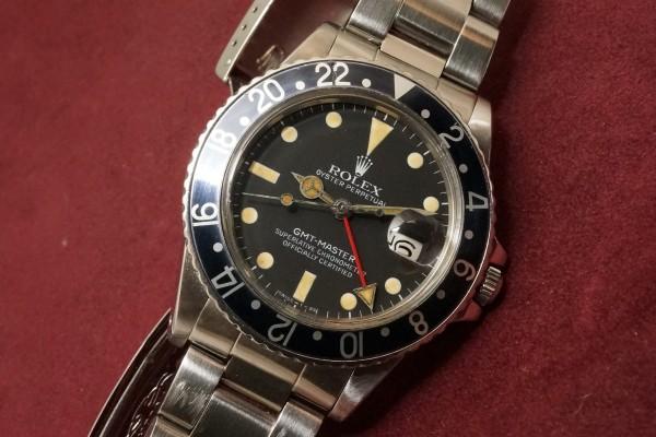 ロレックス GMTマスター Ref-16750 Matte Dial(RS-59/1982年)の詳細写真5枚目