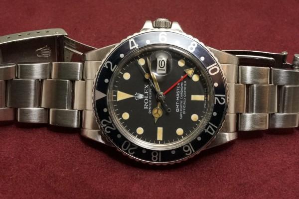 ロレックス GMTマスター Ref-16750 Matte Dial(RS-59/1982年)の詳細写真6枚目