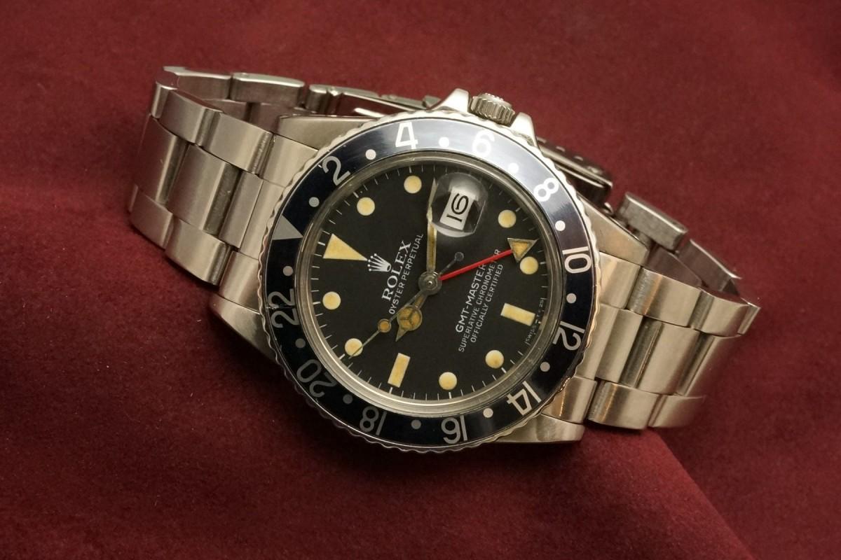 ロレックス GMTマスター Ref-16750 Matte Dial(RS-59/1982年)