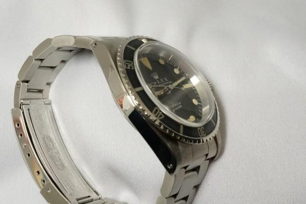 ロレックス サブマリーナ Ref-5513 Feetfirst Dial(RO-01/1972年)の詳細写真7枚目