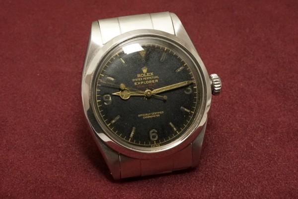 ロレックス EXPLORER Ref-6610 Red depth Dial(RS-73/1956年)の詳細写真4枚目