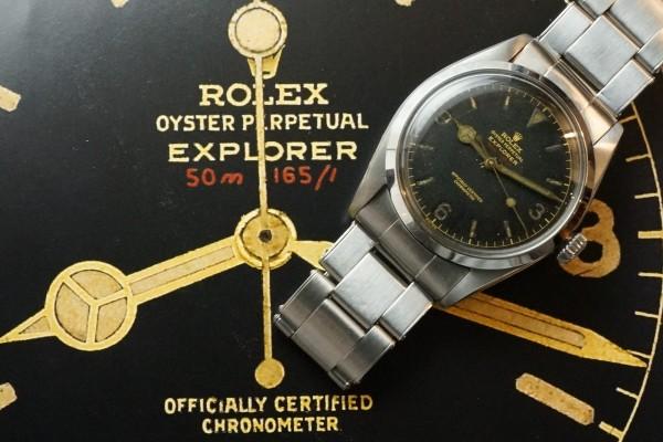 ロレックス EXPLORER Ref-6610 Red depth Dial(RS-73/1956年)の詳細写真15枚目