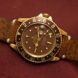 ロレックス GMTマスター Ref-1675/8 Brown Nipple Dial