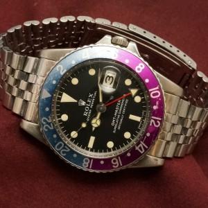 ロレックス GMTマスター Ref-1675 Matte Dial LongE