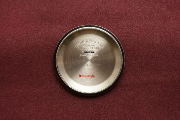 ロレックス サブマリーナ Ref-6536/1 Red depth Dial(RS-10/1956年)の詳細写真9枚目