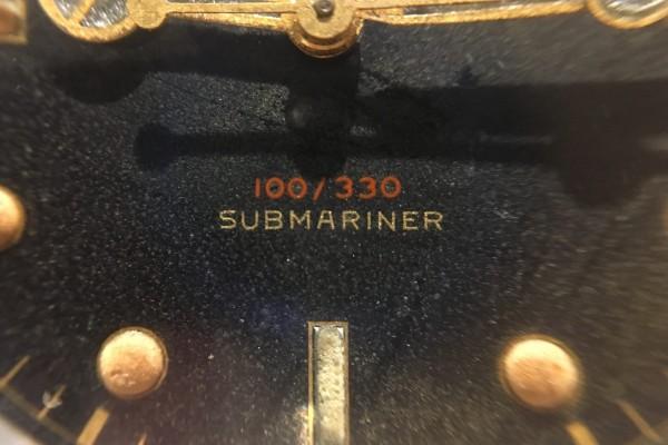 ロレックス サブマリーナ Ref-6536/1 Red depth Dial(RS-10/1956年)の詳細写真11枚目