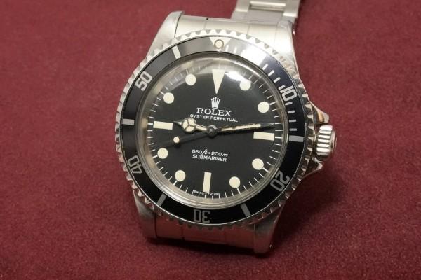 ロレックス サブマリーナ Ref-5513 Pre-COMEX(RS-22/1977年)の詳細写真3枚目