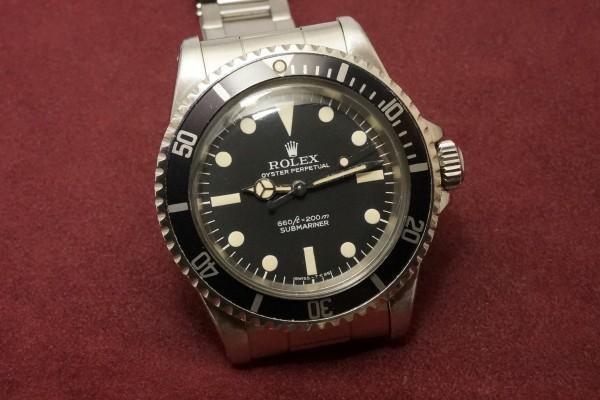 ロレックス サブマリーナ Ref-5513 Pre-COMEX(RS-22/1977年)の詳細写真4枚目