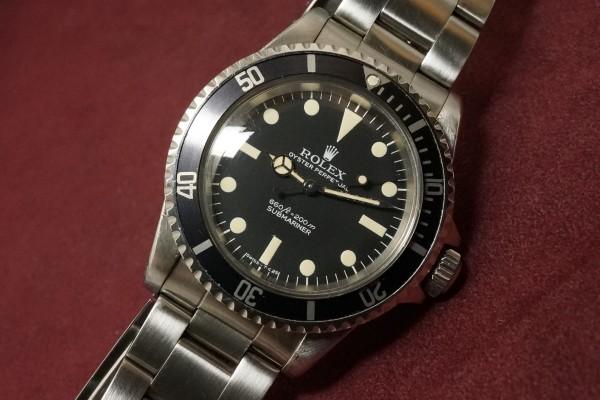 ロレックス サブマリーナ Ref-5513 Pre-COMEX(RS-22/1977年)の詳細写真5枚目