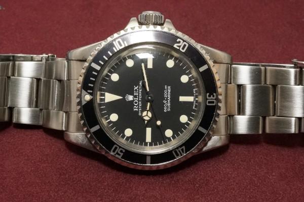 ロレックス サブマリーナ Ref-5513 Pre-COMEX(RS-22/1977年)の詳細写真6枚目