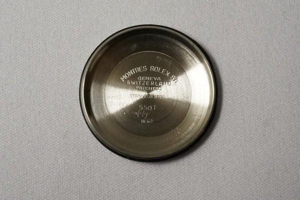 ロレックス REF-5501 EXPLORER(RS-01/1962年)の詳細写真11枚目