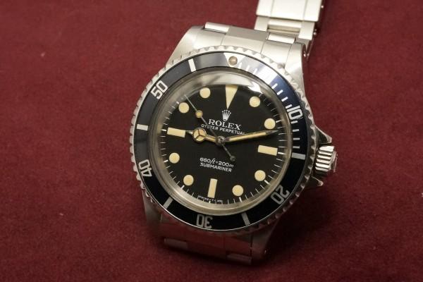 ロレックス サブマリーナ Ref-5513 MAXI Mark-1 Dial(RS-93/1977年)の詳細写真3枚目