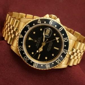 ロレックス GMTマスター Ref-16758 Black Nipple dial