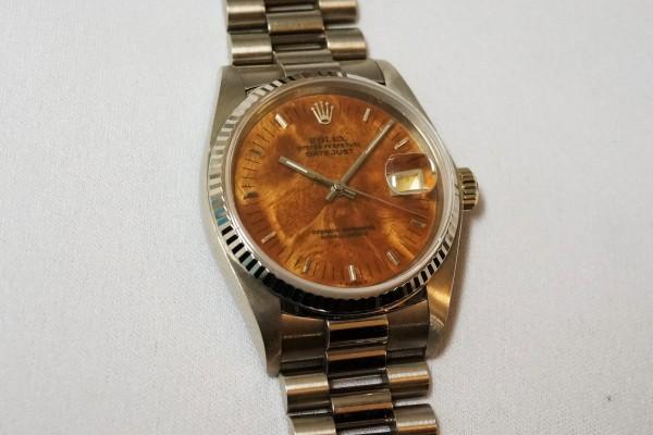 ロレックス REF-16019 DATE-JUST 18KWG BIRCH RARE!(RO-08/1977年)の詳細写真3枚目