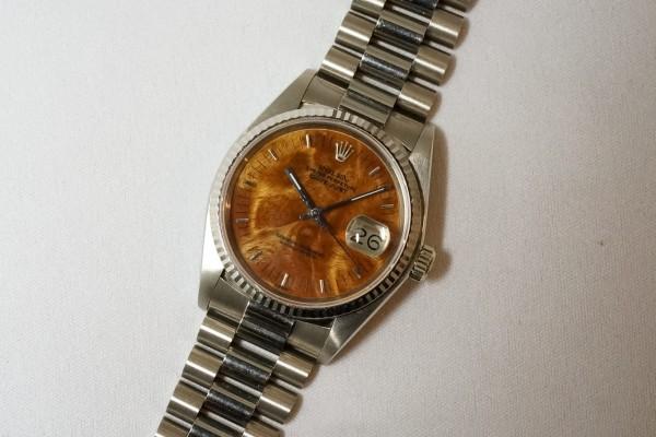 ロレックス REF-16019 DATE-JUST 18KWG BIRCH RARE!(RO-08/1977年)の詳細写真4枚目
