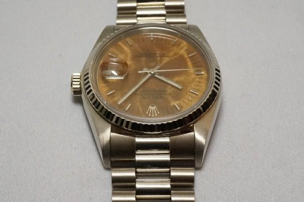 ロレックス REF-16019 DATE-JUST 18KWG BIRCH RARE!(RO-08/1977年)の詳細写真8枚目