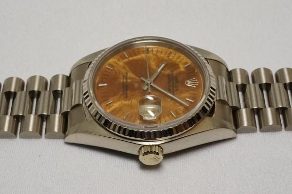 ロレックス REF-16019 DATE-JUST 18KWG BIRCH RARE!(RO-08/1977年)の詳細写真9枚目