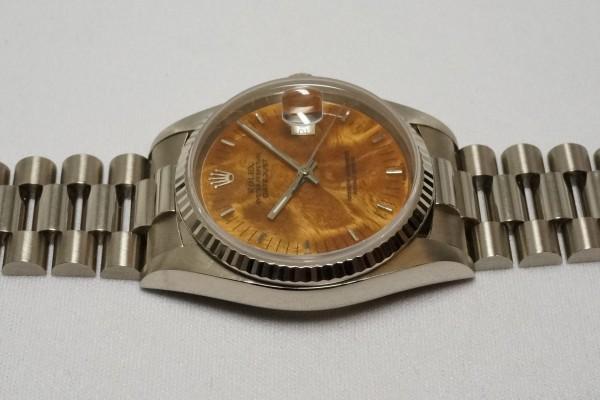 ロレックス REF-16019 DATE-JUST 18KWG BIRCH RARE!(RO-08/1977年)の詳細写真10枚目