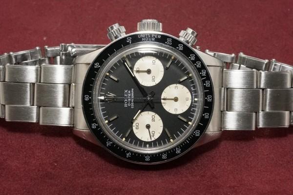 ロレックス COSMOGRAPH Ref-6263 Black Sigma σ Dial(RS-04/1976年)の詳細写真6枚目