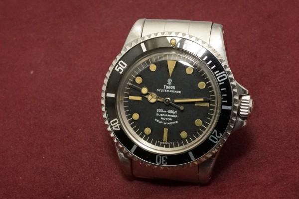 チュードル サブマリーナ Ref-7928 Small Rose Dial(TS-02/1967年)の詳細写真3枚目