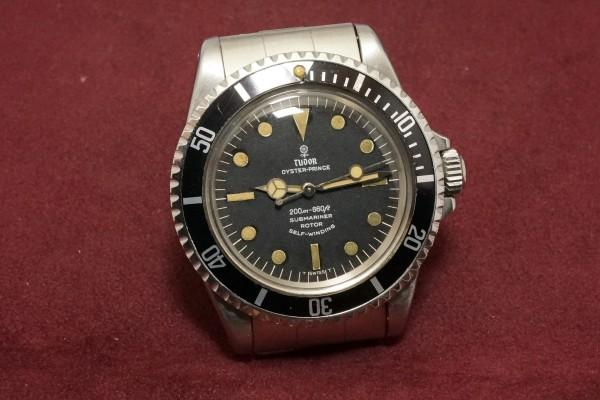 チュードル サブマリーナ Ref-7928 Small Rose Dial(TS-02/1967年)の詳細写真4枚目