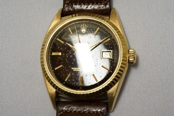 ロレックス REF-1601YG デイトジャスト Galaxy Dial(RO-10/1964年)の詳細写真6枚目