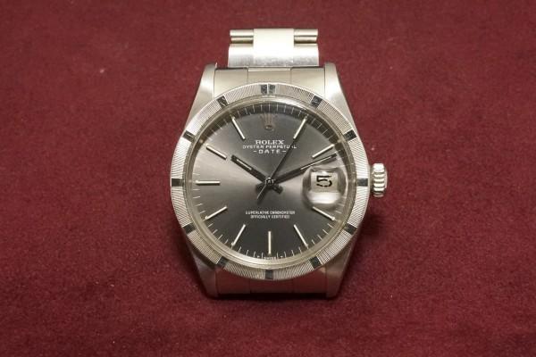 ロレックス OYSTER PERPETUAL DATE Ref-1501 Gray Dial(RO-66/1972年)の詳細写真2枚目