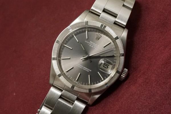 ロレックス OYSTER PERPETUAL DATE Ref-1501 Gray Dial(RO-66/1972年)の詳細写真5枚目