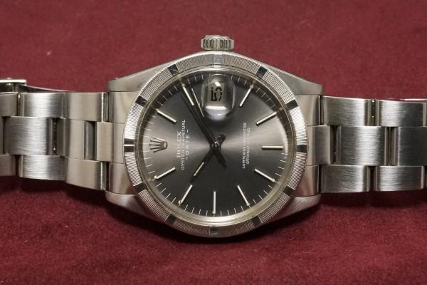 ロレックス OYSTER PERPETUAL DATE Ref-1501 Gray Dial(RO-66/1972年)の詳細写真6枚目