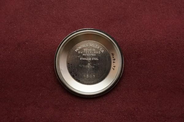 ロレックス OYSTER PERPETUAL DATE Ref-1501 Gray Dial(RO-66/1972年)の詳細写真11枚目