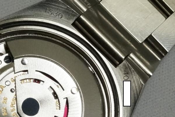 ロレックス Ref.1530 OYSTER PERPETUAL DATE 50th Anniversary(RO-07/1974年)の詳細写真15枚目