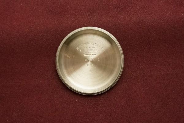 ロレックス デイトジャスト Ref-6305-2 RED DATEJAST Dial(RO-67/1955年)の詳細写真11枚目