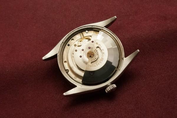 ロレックス デイトジャスト Ref-6305-2 RED DATEJAST Dial(RO-67/1955年)の詳細写真12枚目