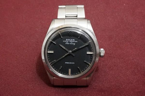 ロレックス Ref-5500 Air-King Black Dial Garantie(RO-68/1978年)の詳細写真2枚目