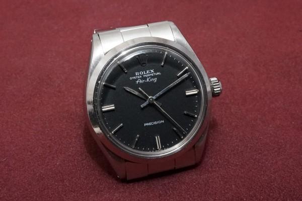 ロレックス Ref-5500 Air-King Black Dial Garantie(RO-68/1978年)の詳細写真4枚目