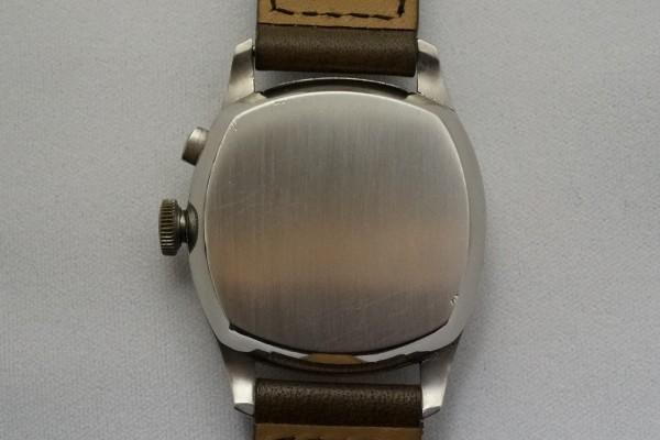 VULCAIN CHRONOMETRE Big Cushion Case Breguet Numerals クロノグラフ(CH-01/1930s)の詳細写真10枚目