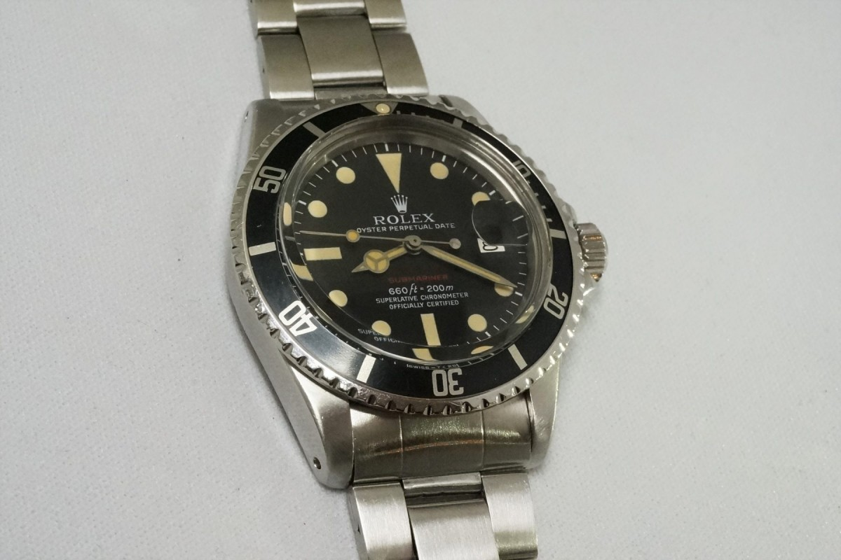 pretty nice 8fa0f 6341a ロレックス 赤サブマリーナ Ref-1680 Mark-5 Dial(RS-31/1971年)
