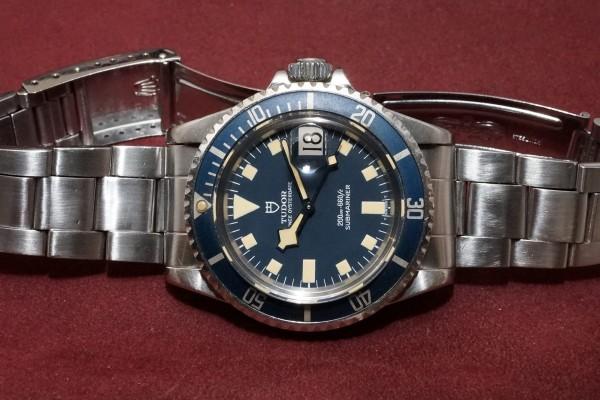 チュードル サブマリーナ Ref-94110 Blue Snowflake(TS-06/1979年)の詳細写真6枚目
