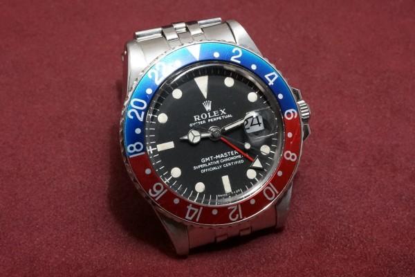 ロレックス GMTマスター Ref-1675 Matte Dial LongE(RS-96/1968年)の詳細写真4枚目