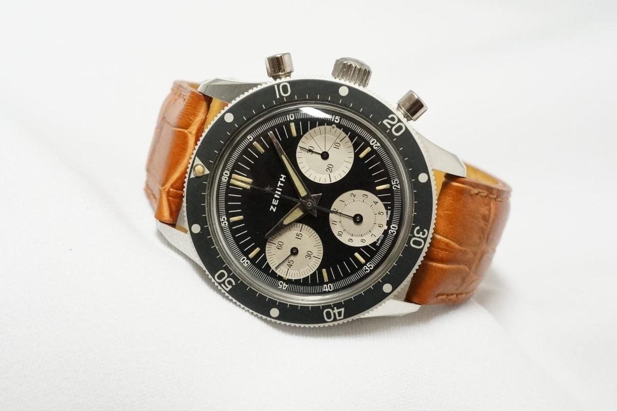 ZENITH Ref-A277 Diver クロノグラフ(CH-01/1960s)
