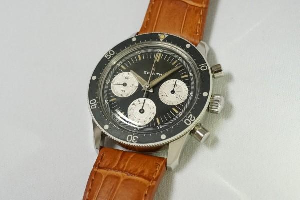ZENITH Ref-A277 Diver クロノグラフ(CH-01/1960s)の詳細写真2枚目