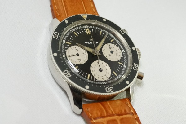 ZENITH Ref-A277 Diver クロノグラフ(CH-01/1960s)の詳細写真3枚目