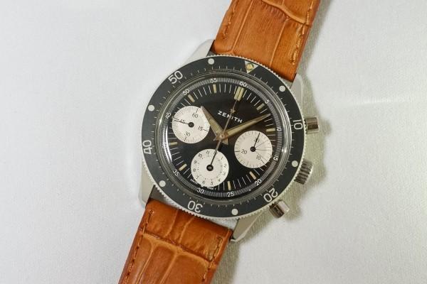 ZENITH Ref-A277 Diver クロノグラフ(CH-01/1960s)の詳細写真4枚目