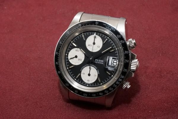 チュードル CHRONOTIME Ref-94200 BigBlock BlackDial Garantie&Box(TS-09/1988年)の詳細写真3枚目