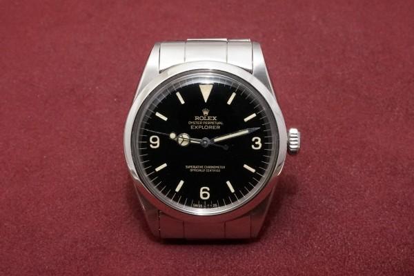 ロレックス EXPLORER Ref-1016 Gilt/Gloss Dial(RS-03/1964年)の詳細写真2枚目
